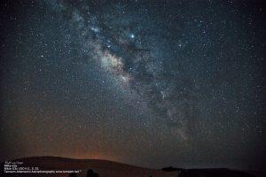 تصويري لمجرة درب التبانة