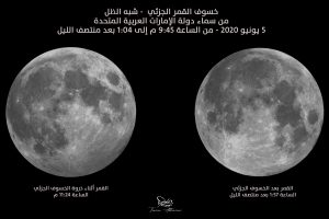 خسوف القمر شبه الظل