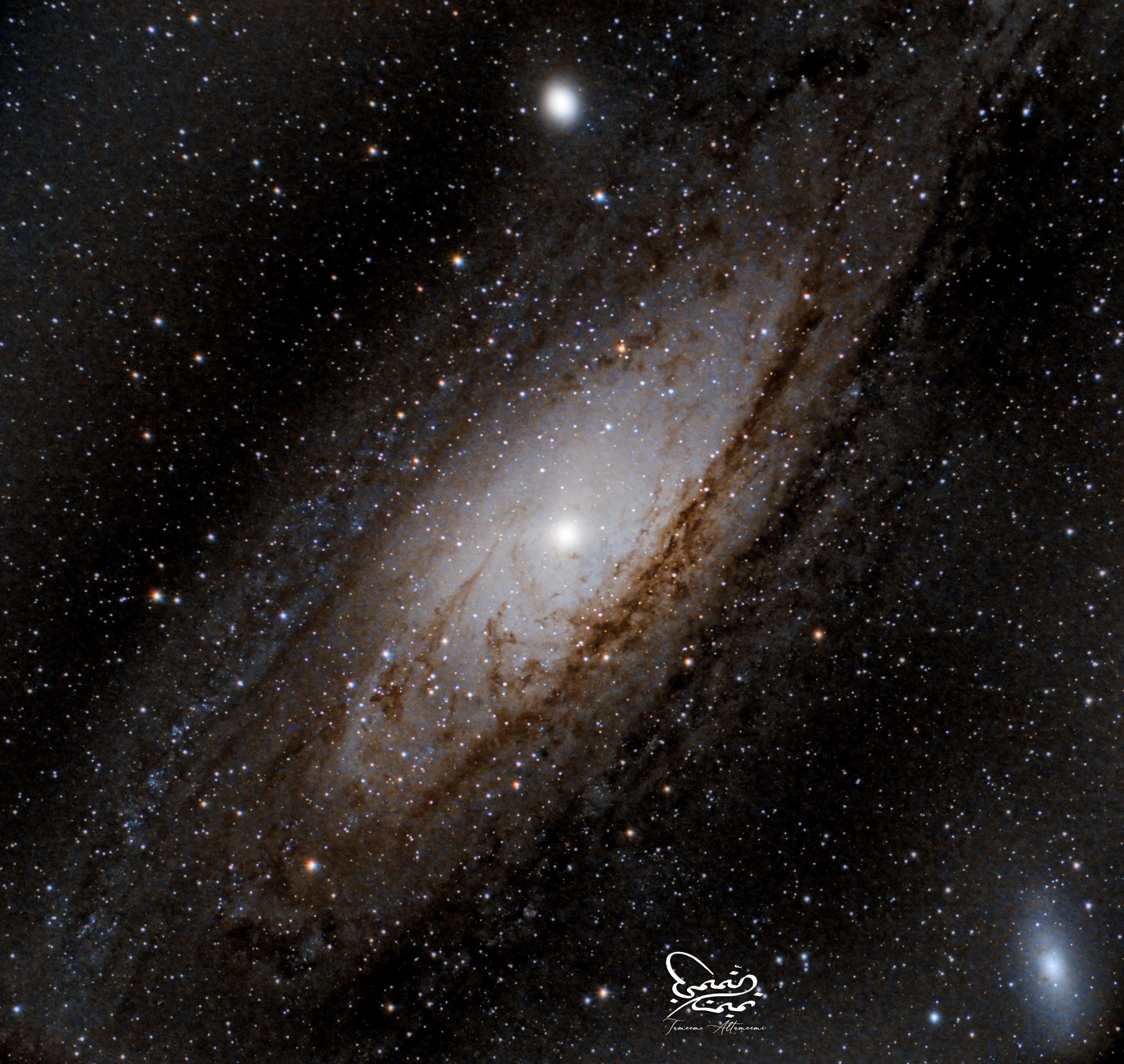 Andromeda  مجرة المرأة المسلسلة