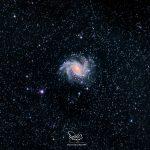 Fireworks Galaxy – مجرة الألعاب النارية