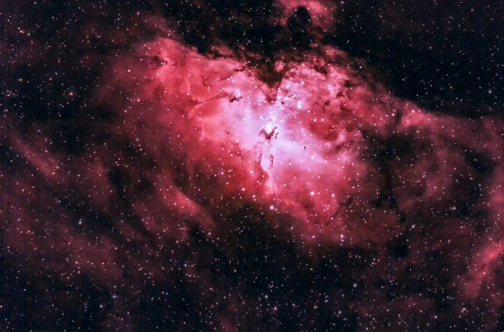 سديم النسر Eagle Nebula